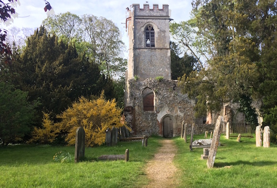 Ayot St Lawrence old church